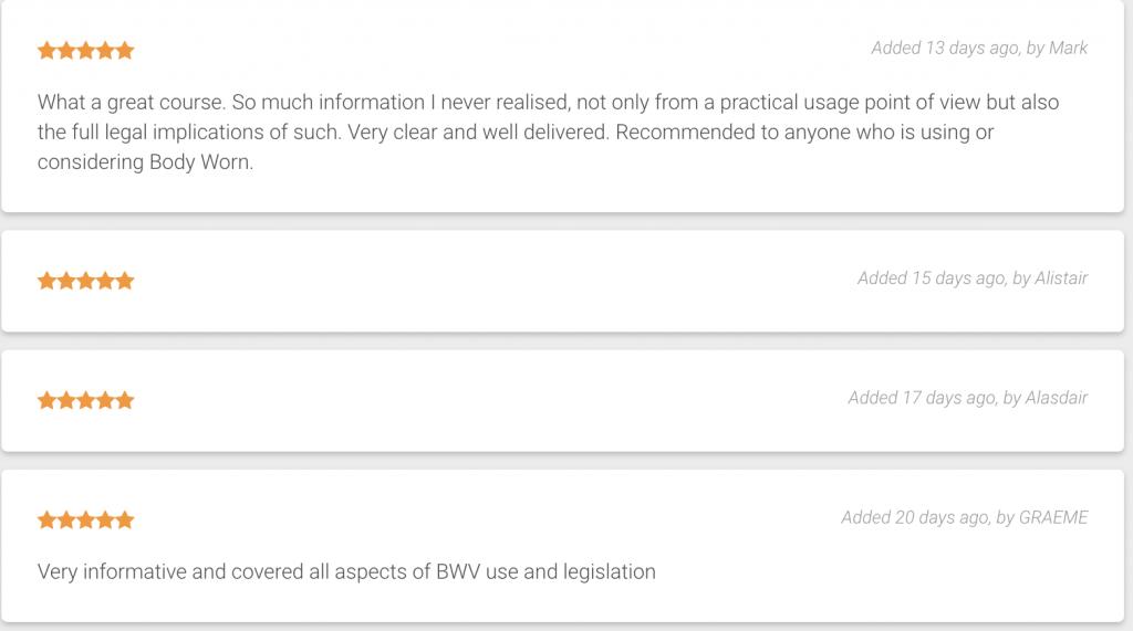 BWV online reviews